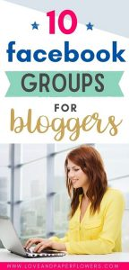 Facebook groups for blogger