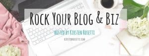 Rock your blog and biz