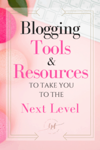 The best blogging tools and blogging resources to take your blog to the next level. Profitable blogging resources, profitable resources tools.