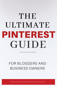step-by step tutorial on how to use Pinterest for Marketing and use Pinterest for bloggers