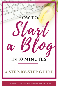 """If you have been thinking about starting a blog and don't know where to start, I have put together a """"How to Start a Blog"""" Step-by-Step Guide so that you can finally start a blog hassle free. How to start a Blog Tutorial #startablog #blogtutorial #Howtostartablog #Bluehosttutorial"""