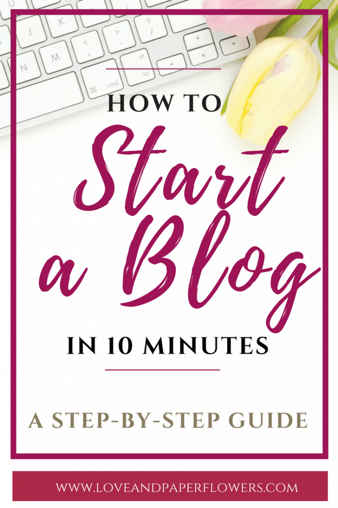 If you have been thinking about starting a blog and don't know where to start, I have put together a