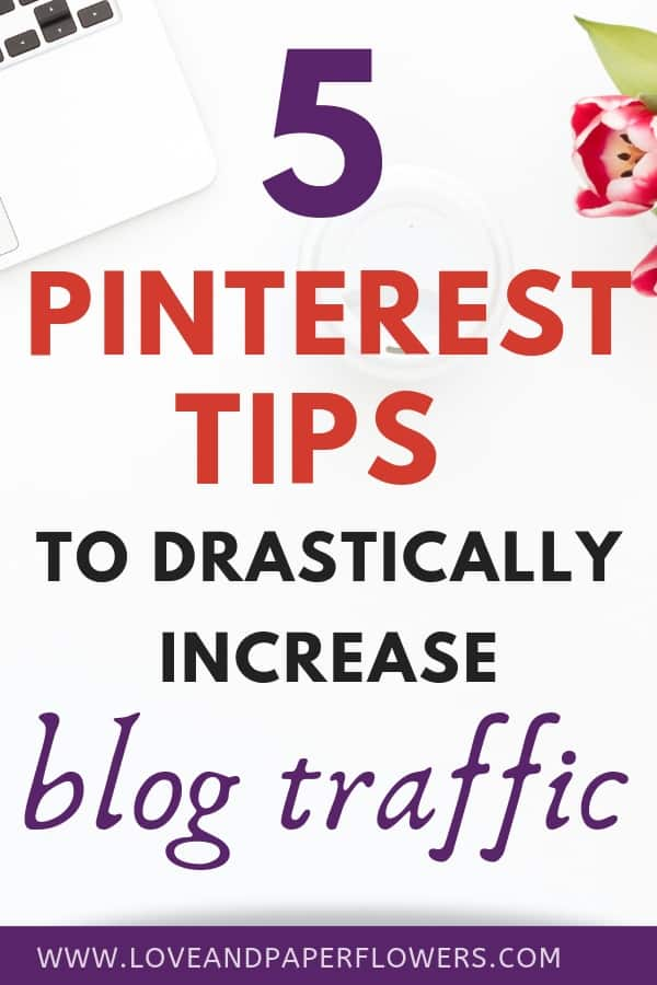 How to increase blog traffic using Pinterest