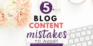 Blog Content Mistakes to avoid, improve blog content engagement