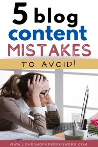 Increase blog content engagement, avoid these blog content mistakes