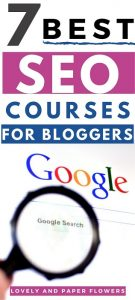 best SEO Courses for bloggers, comprehensive to basic and ebooks