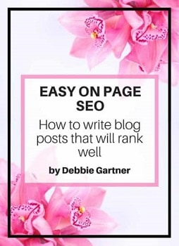 Easy On Page SEO for Beginner adn Intermediate Bloggers