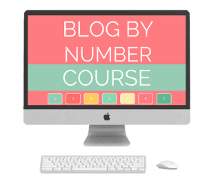 Blog By Number, Start a Mom Blog Course